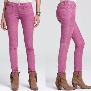Free People Stretch Corduroy Skinny Jeans